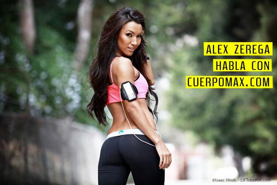 Modelo de Fitness Alex Zerega 01 Entrevista con la Modelo de Fitness Profesional: Alex Zerega